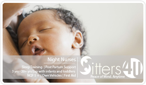 Sitters / Au Pairs in Cape Town, Johannesburg and Pretoria - Sitters4U Babysitting, House sitting and Au Pair services. - Night Nurses