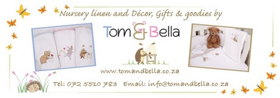 Tom and Bella  Nursery Linen, Decor, Gifts and Goodies